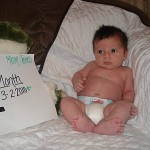 Mason Turned 1 Month Today!!