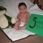 Mason's 5 Weeks!