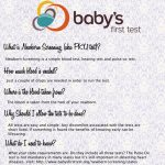Newborn Screening, Yay or Nay?: Part 1
