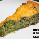 Cheesy Beef and Broccoli Casserole