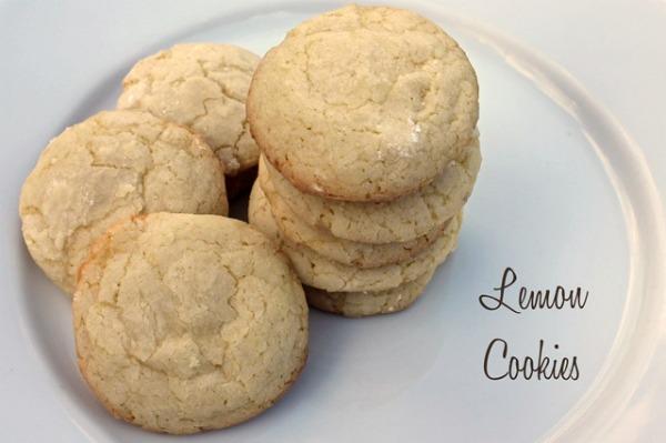 Lemon Cookies recipe