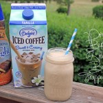 Peanut Butter Heath Bar Frappuccino #IcedDelight