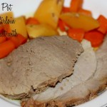 Easy Crock Pot Pork Sirloin Tip Roast #Recipe