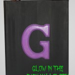 Glow in the Dark Halloween Canvas