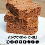 Avocado Chili Brownies + A Contest