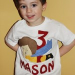 Mason is THREE!!