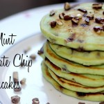 Andes Mint Chocolate Chip Pancakes