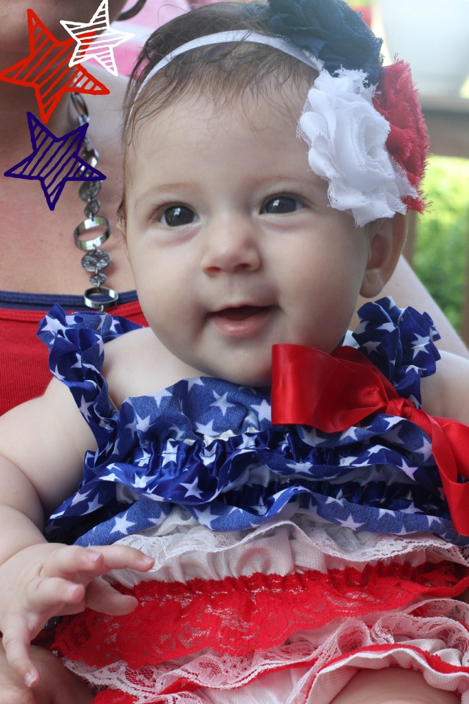 Kyla 1st 4th of July