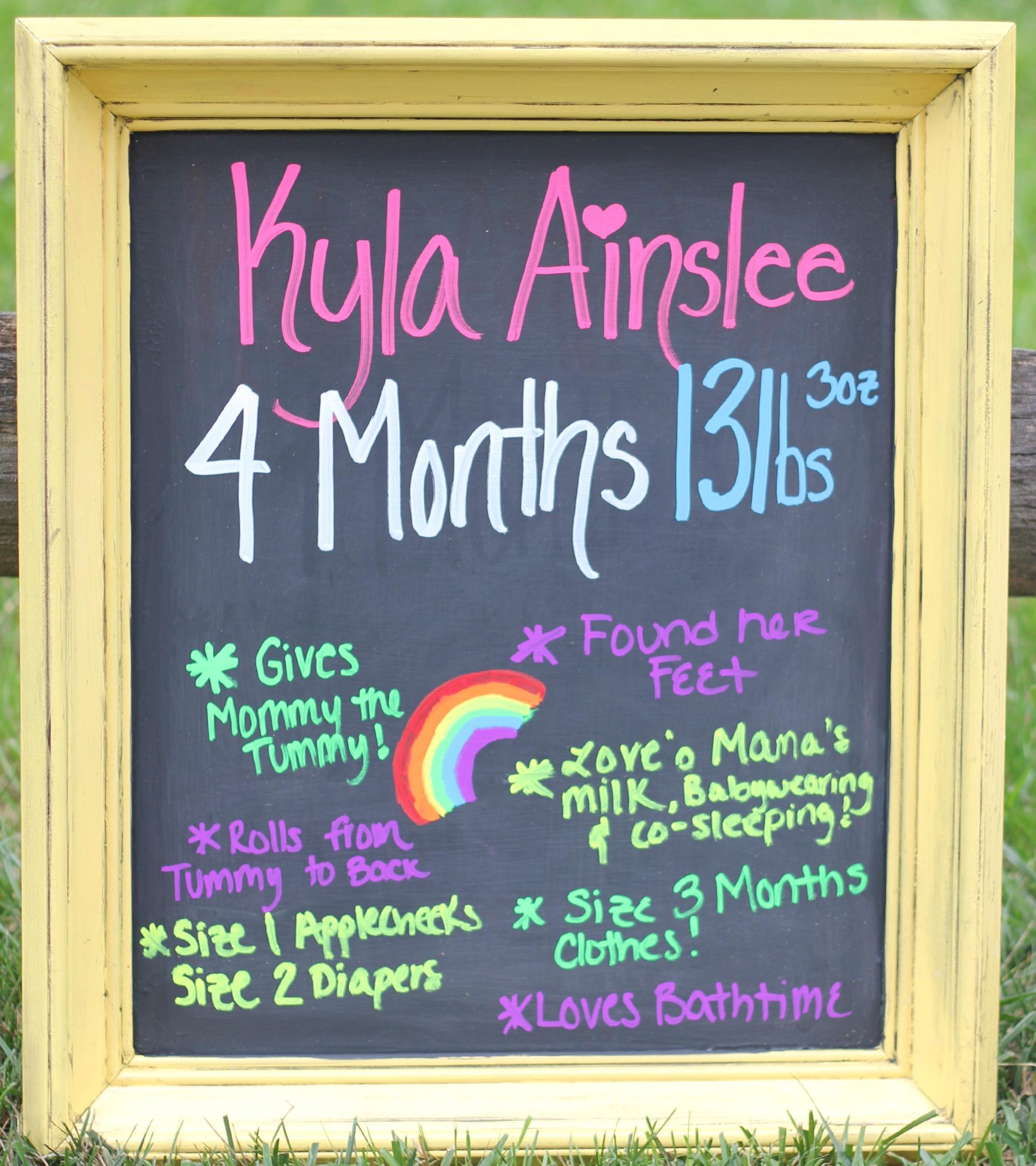 Kyla4Months