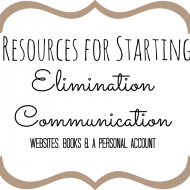 Elimination Communication Update + Resources