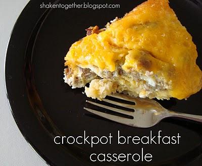 breakfast crock pot