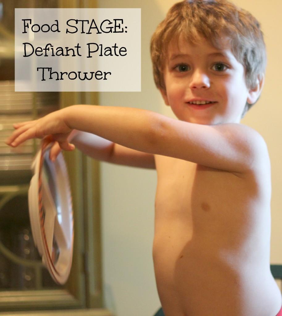 defaint plate thrower