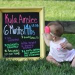Kyla: 6 Months