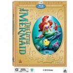 The Little Mermaid Diamond Edition 2-Disc Blu-ray+DVD Combo Pack with Digital Copy #Giveaway