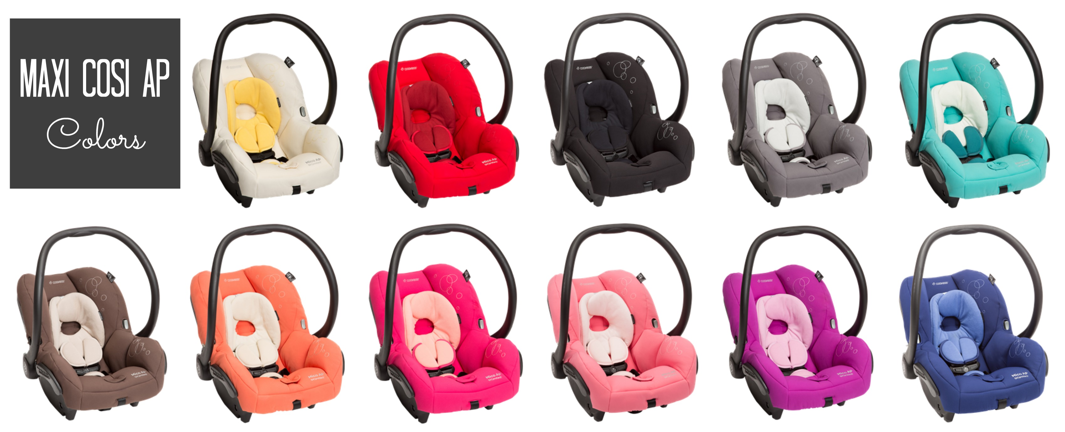 MaxiCosiAPColors · MaxiCosiAPTheWhiteCollection  sc 1 st  Little BGCG & Maxi Cosi AP Review: Final Thoughts - Little Us