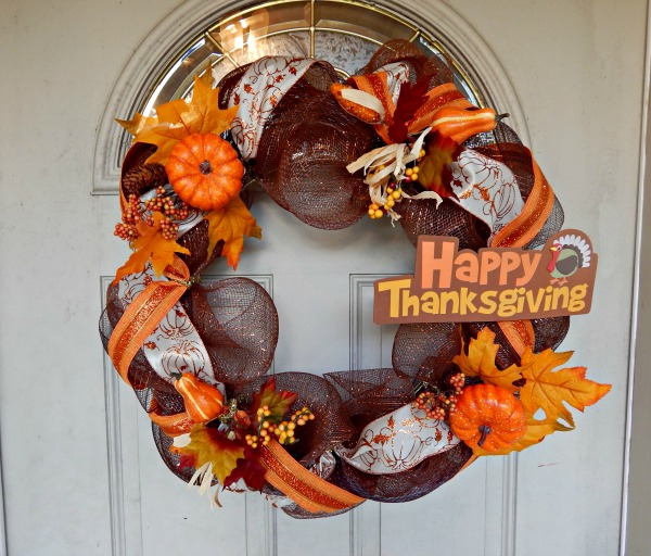 Thanksgiving Wreath Tutorial 2