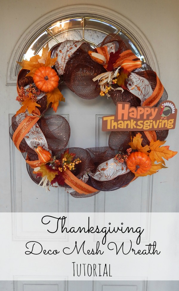 Thanksgiving Wreath Tutorial