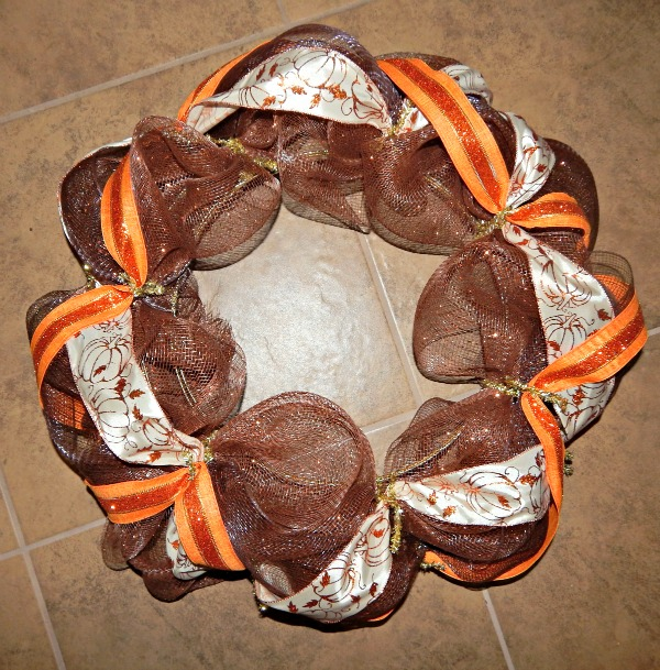 Thanksgiving Wreath step 11