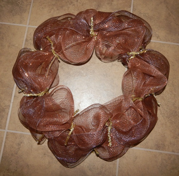 Thanksgiving Wreath step 8