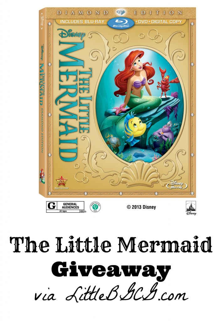 The Little Mermaid DVD Diamon Edition Giveaway