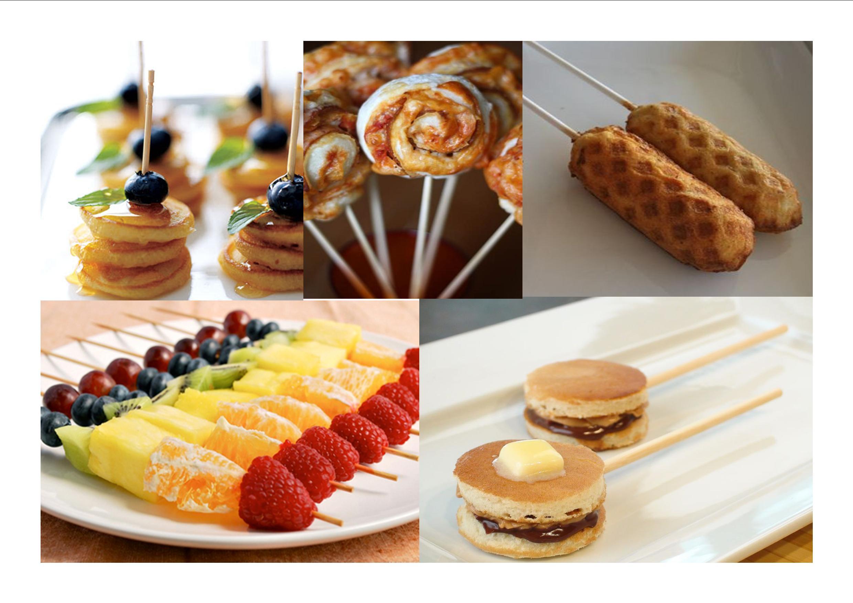 Foods on sticks