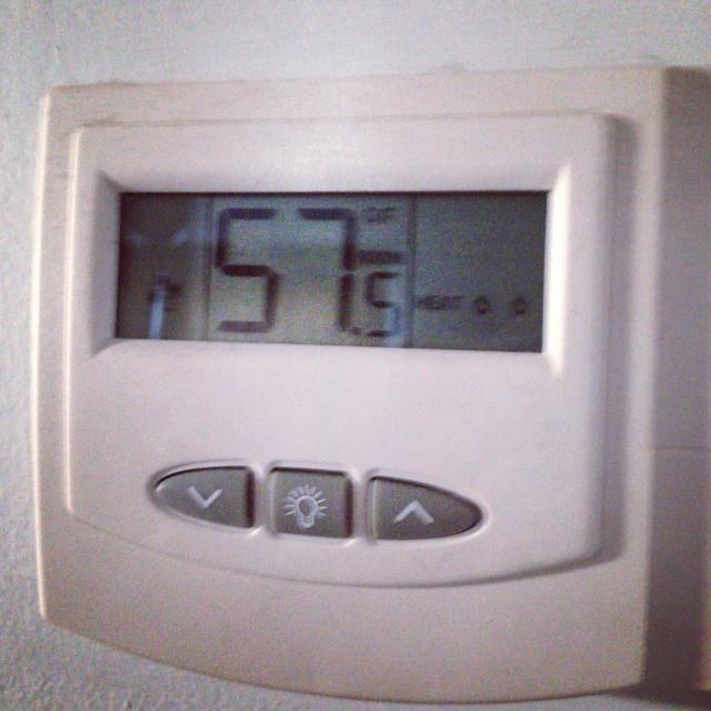 57 degrees