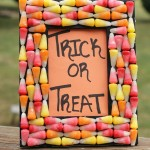 Starburst Candy Corn Frame Tutorial