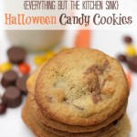 Everything But the Kitchen Sink Halloween Candy Cookies