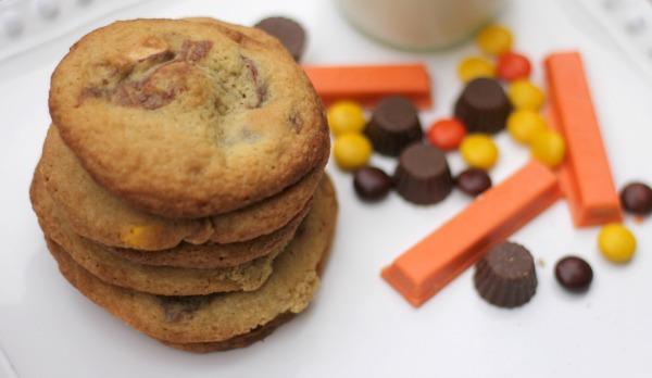 Halloween Kitchen Sink Cookies