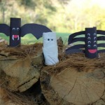 Vampire Bat, Mummy & Spider Halloween Craft for Your Preschooler