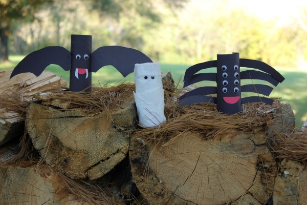 IHalloween Toilet Paper Roll Creatures