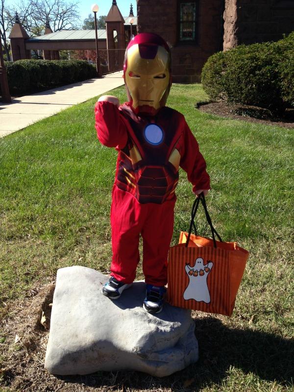 Mason Iron Man Halloween 2013