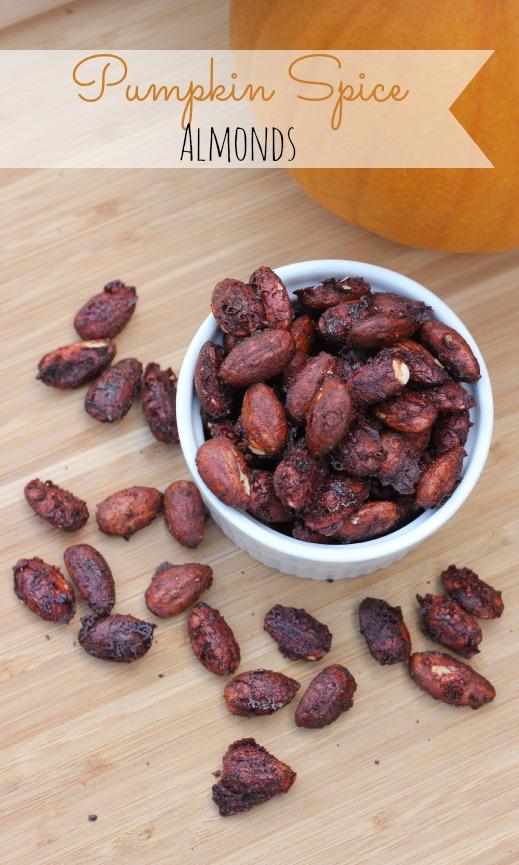 Pumpkin Spice Almonds Recipe