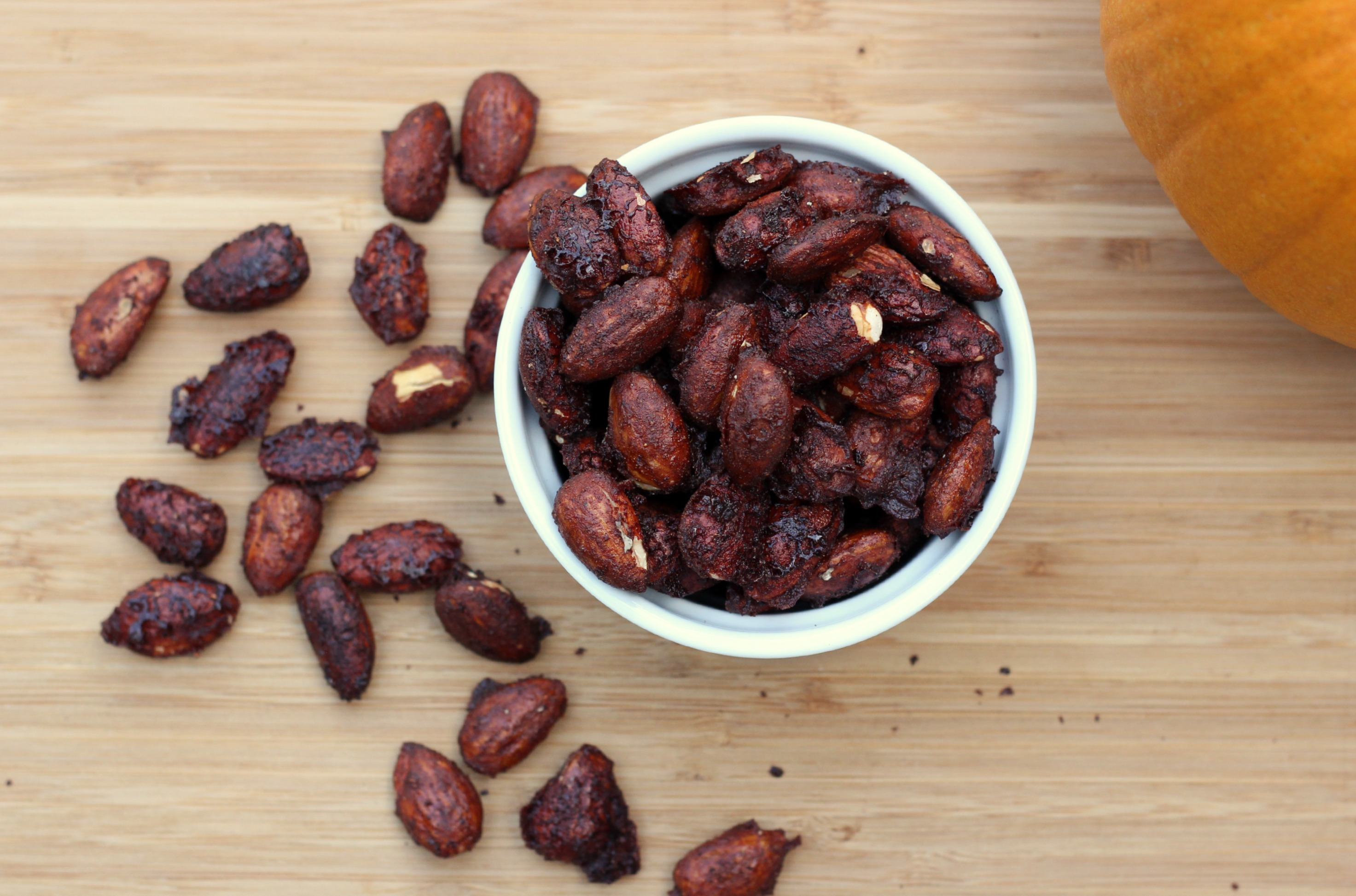 Pumpkin Spice Almonds Recipe 2