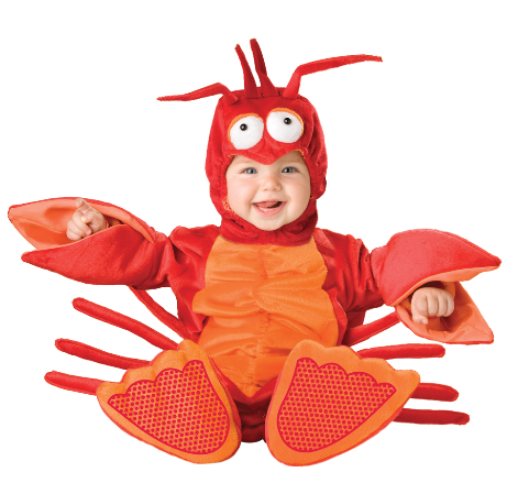 lilu0027 lobster remember what i said about kids and animals that goes for underwater animals too bright and unique this lobster costume is cute and