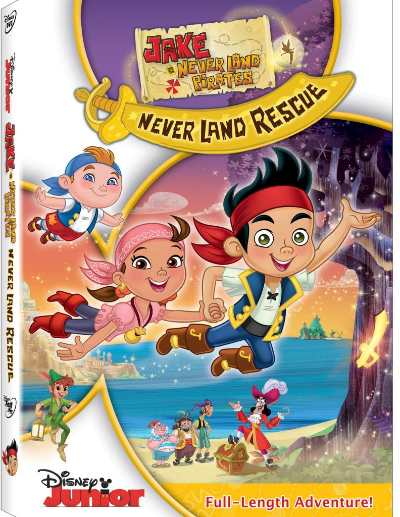 JakeAndNeverlandPiratesNeverLandRescueDVD
