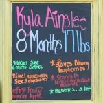 Kyla: 8 Months