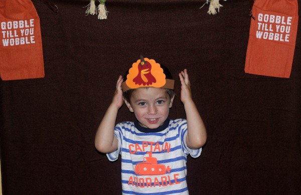 Mason Thanksgiving Photo Booth Props