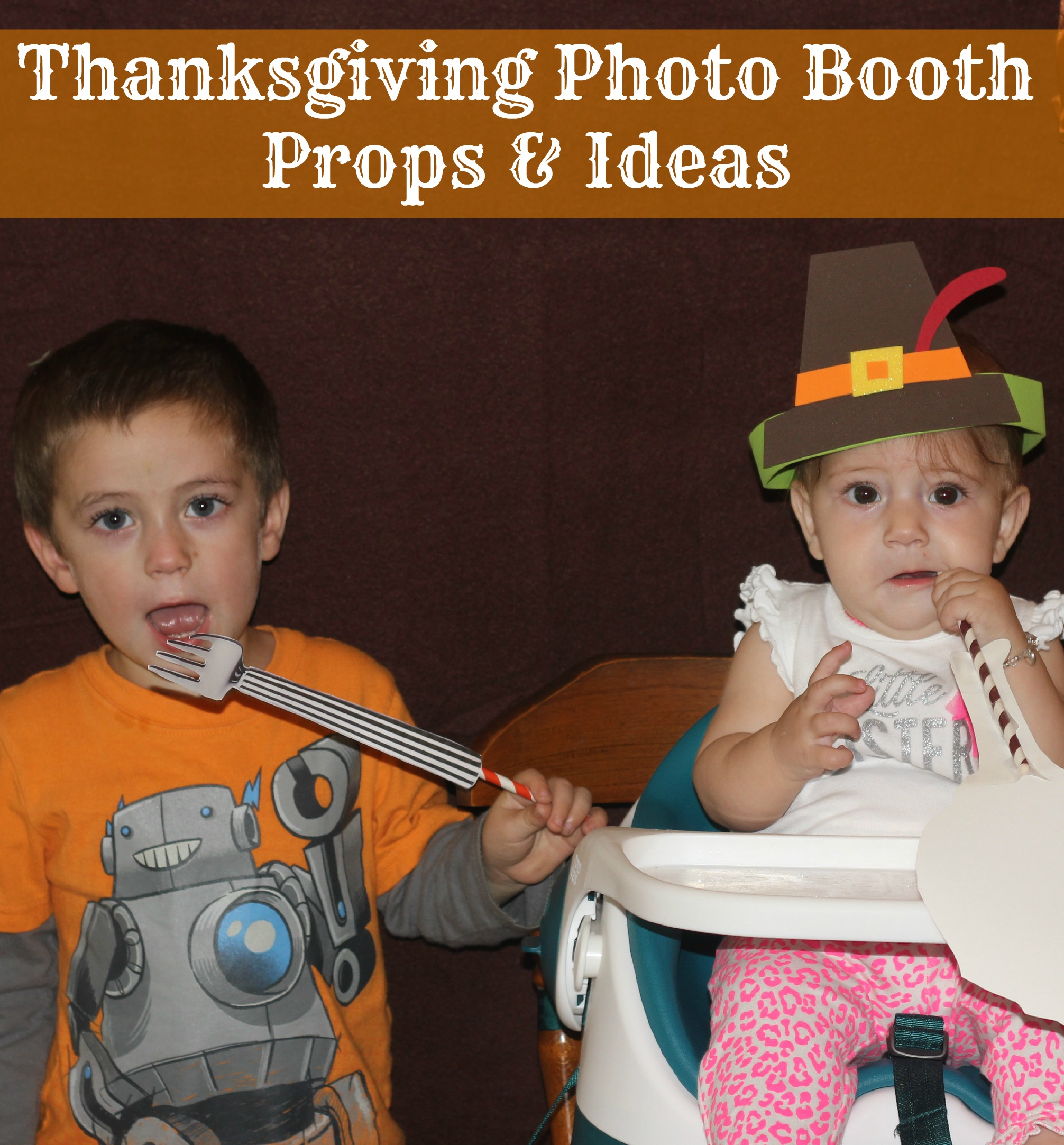 Thanksgiving Photo Booth Props and Ideas