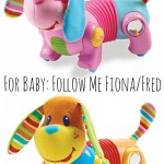 Holiday Gift Guide For Baby: Follow Me Fiona (or Fred) #Giveaway