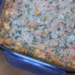 Tomato Spinach Dip #Recipe