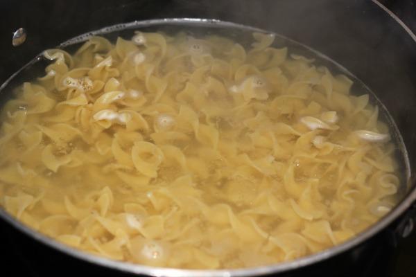 Chik'n Nuggets Noodle Casserole 2