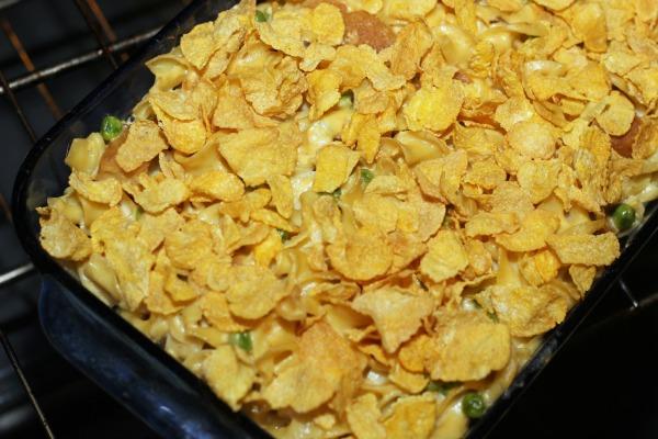 Chik'n Nuggets Noodle Casserole 5
