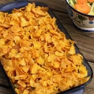 Chik'n Nuggets Noodle Casserole #Recipe  #GreatStarts