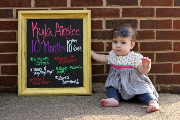 Kyla 10 Months