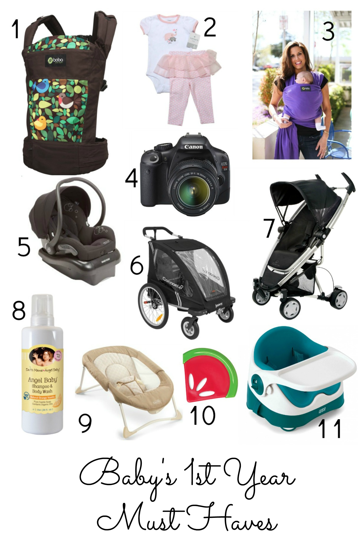 Baby's 1st Year Must Haves