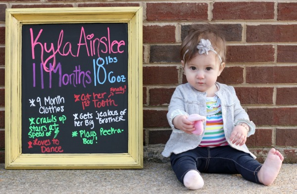Kyla is 11 Months Old