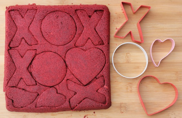 Red Velvet Brownies Cookie Cutters