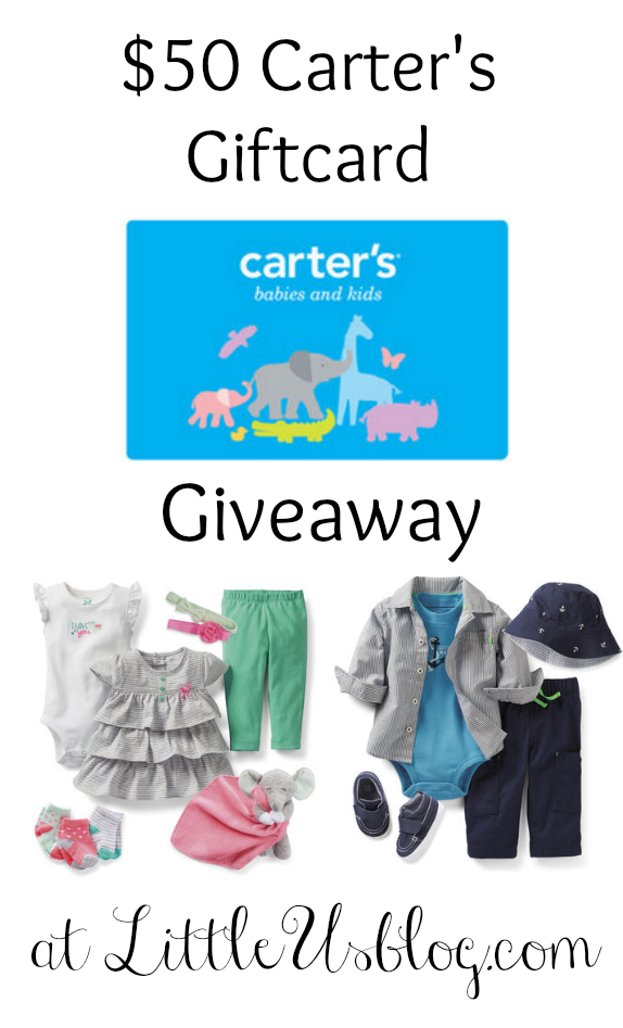 carter's giveaway