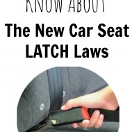 What You Need to Know About The New Car Seat LATCH Law